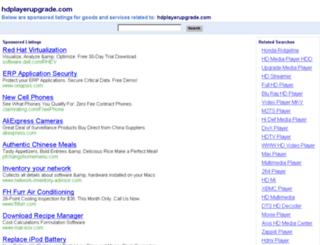 hdplayerupgrade.com screenshot