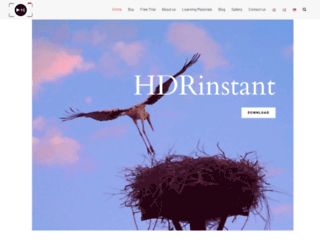 hdrinstant.com screenshot
