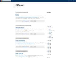 hdrnow.blogspot.com screenshot