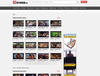 hdsongs.pk screenshot