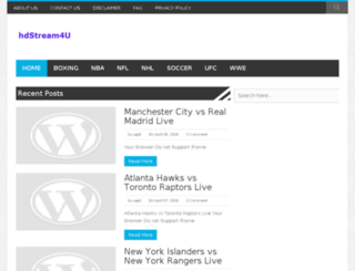 hdstream4u.com screenshot