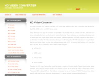 hdvideoconverter.net screenshot