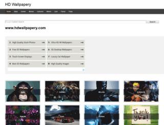 hdwallpapery.com screenshot
