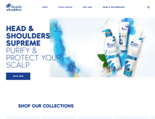 headandshoulders.ca screenshot