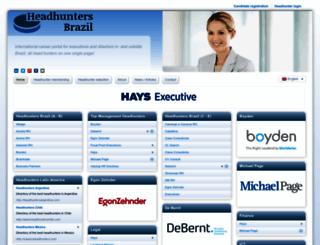 headhuntersbrazil.com screenshot