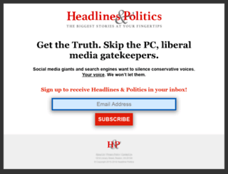 headlinepolitics.com screenshot