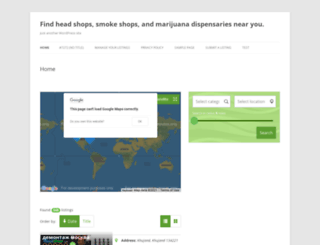 headshops.com screenshot