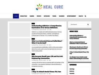 healcure.org screenshot