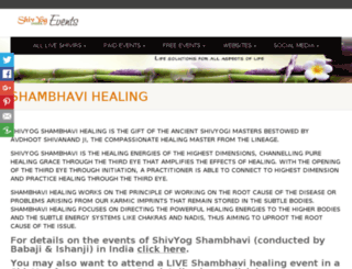 healing.shivyogindiaevents.com screenshot