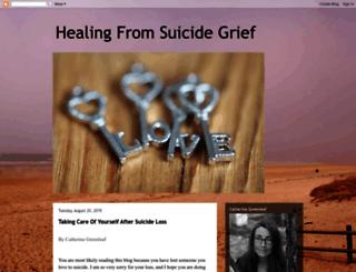 healingfromsuicidegrief.blogspot.co.il screenshot