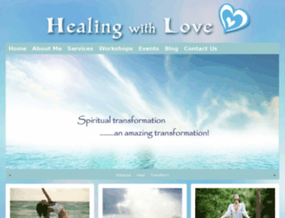 healingwithlove.biz screenshot