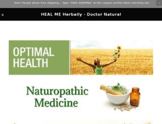 healmeherbally.com screenshot