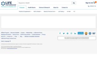 health.lef.org screenshot