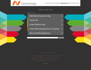 health.prestacoder.com screenshot