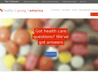 health.younginvincibles.org screenshot
