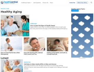 healthafter50.com screenshot