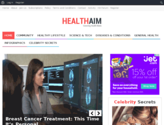 healthaim.com screenshot