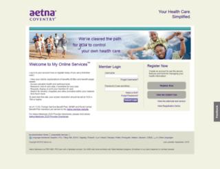 healthamerica.coventryhealthcare.com screenshot