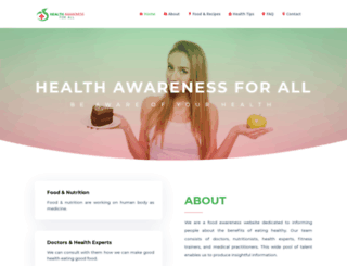 healthawarenessforall.com screenshot