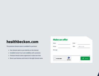 healthbeckon.com screenshot