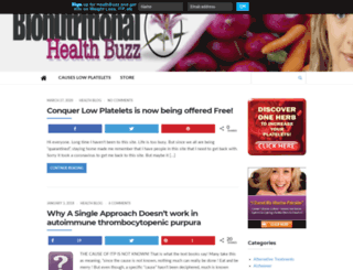 healthbuzz.bionutritionalonline.com screenshot