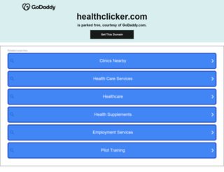 healthclicker.com screenshot