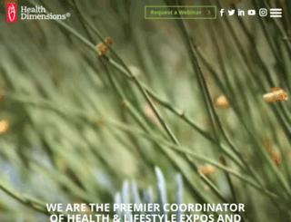 healthdimensions.com screenshot