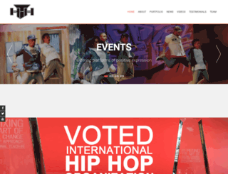 healthehood.org.za screenshot