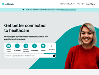 healthengine.com.au screenshot