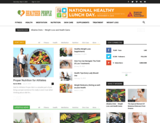 healtherpeople.com screenshot
