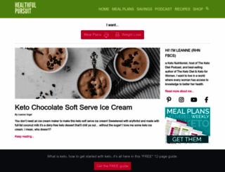 healthfulpursuit.com screenshot