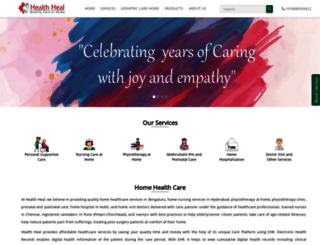 healthheal.in screenshot