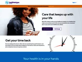 healthiestyou.com screenshot