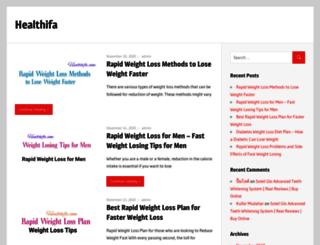 healthifa.com screenshot