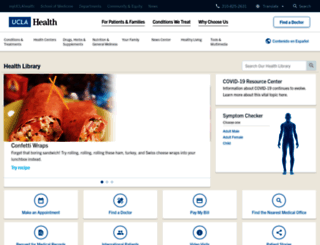 healthinfo.uclahealth.org screenshot