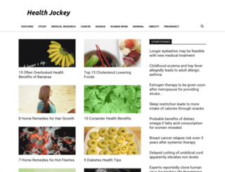 healthjockey.com screenshot