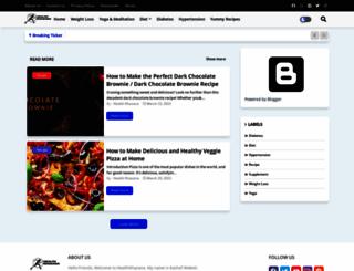 healthkhazana.com screenshot