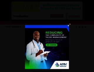 healthleadersmedia.com screenshot