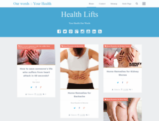 healthlifts.blogspot.com screenshot