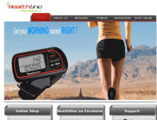healthlinestore.com screenshot