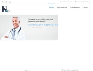 healthlink.ug screenshot