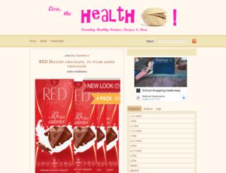 healthnuttxo.com screenshot