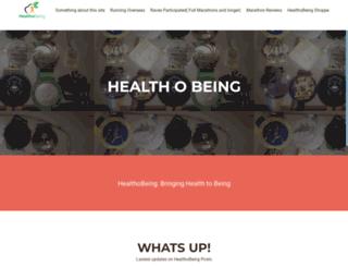 healthobeing.com screenshot