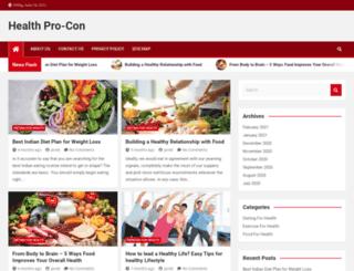 healthprocon.com screenshot