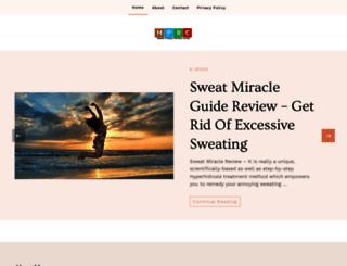 healthproductreviewcenter.com screenshot