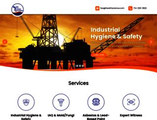 healthscience.com screenshot