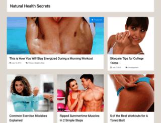 healthsecretsdaily.com screenshot