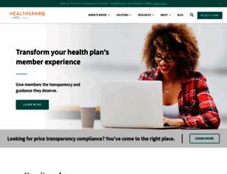 healthsparq.com screenshot