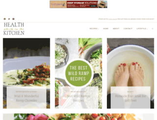 healthstartsinthekitchen.com screenshot