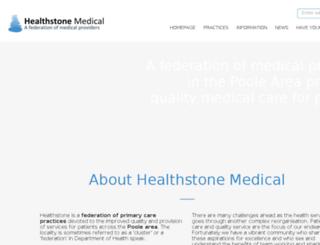 healthstone.org screenshot